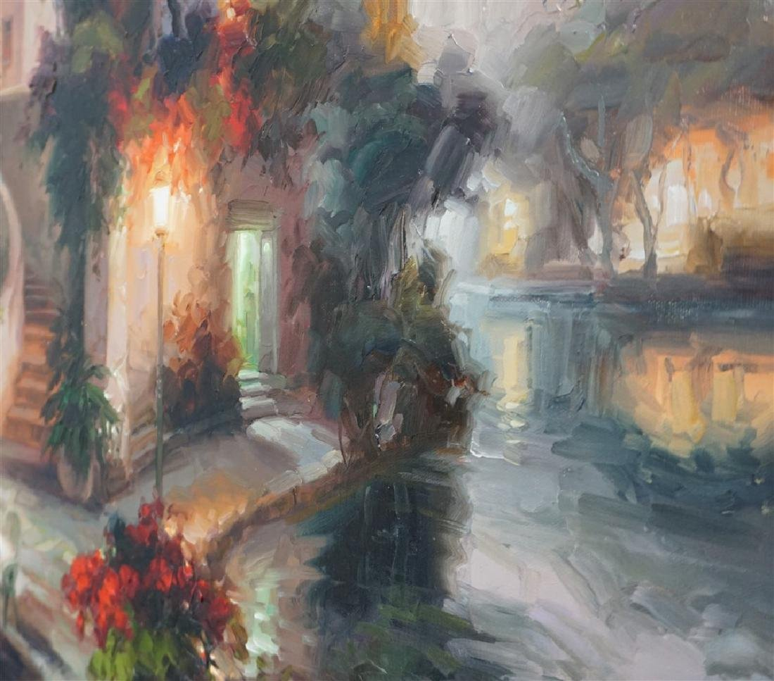 LARGE CONTEMPORARY OIL ON CANVAS - 8