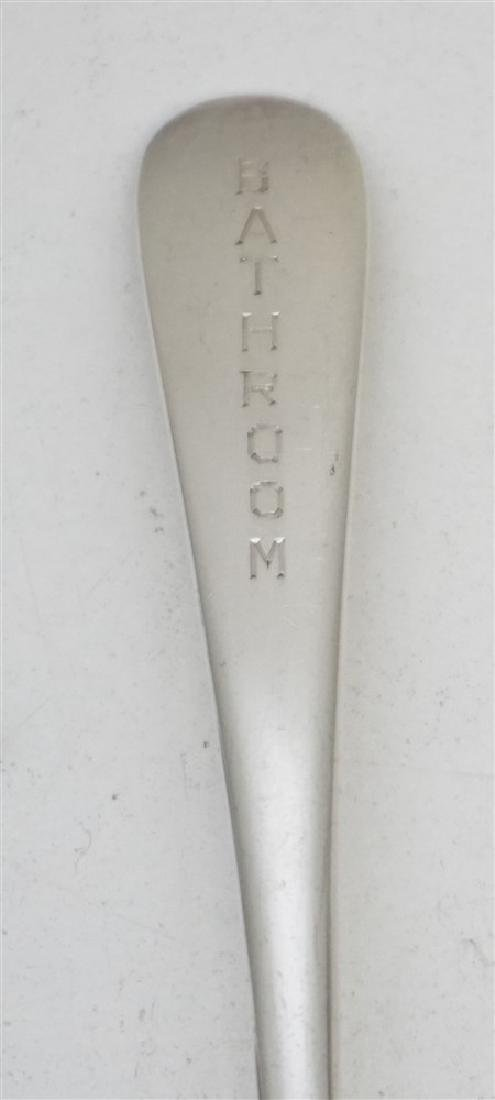 4 pc STERLING - BATHROOM SPOON - 4