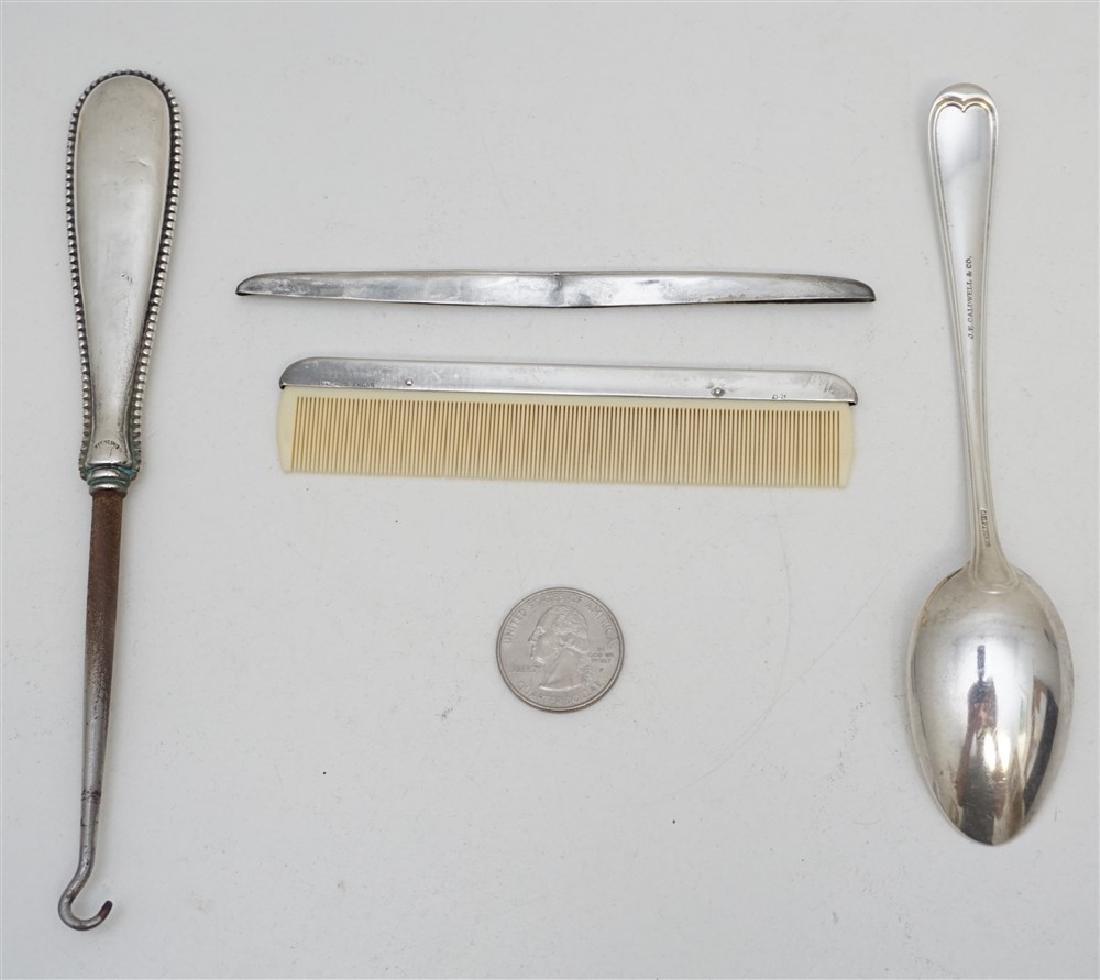 4 pc STERLING - BATHROOM SPOON - 5