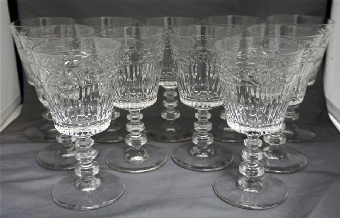 11 CONTEMPORARY CRYSTAL GLASSES