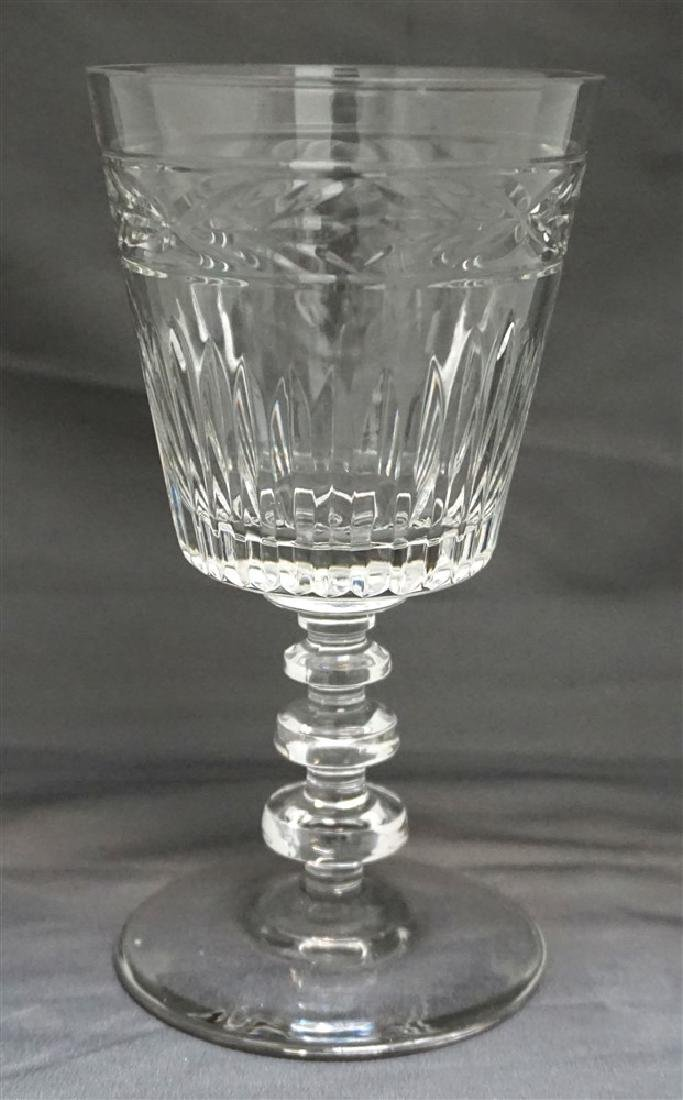 11 CONTEMPORARY CRYSTAL GLASSES - 2