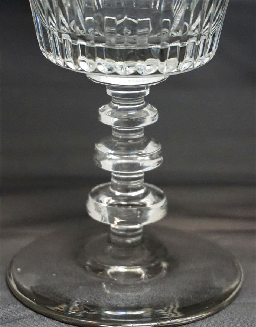 11 CONTEMPORARY CRYSTAL GLASSES - 3
