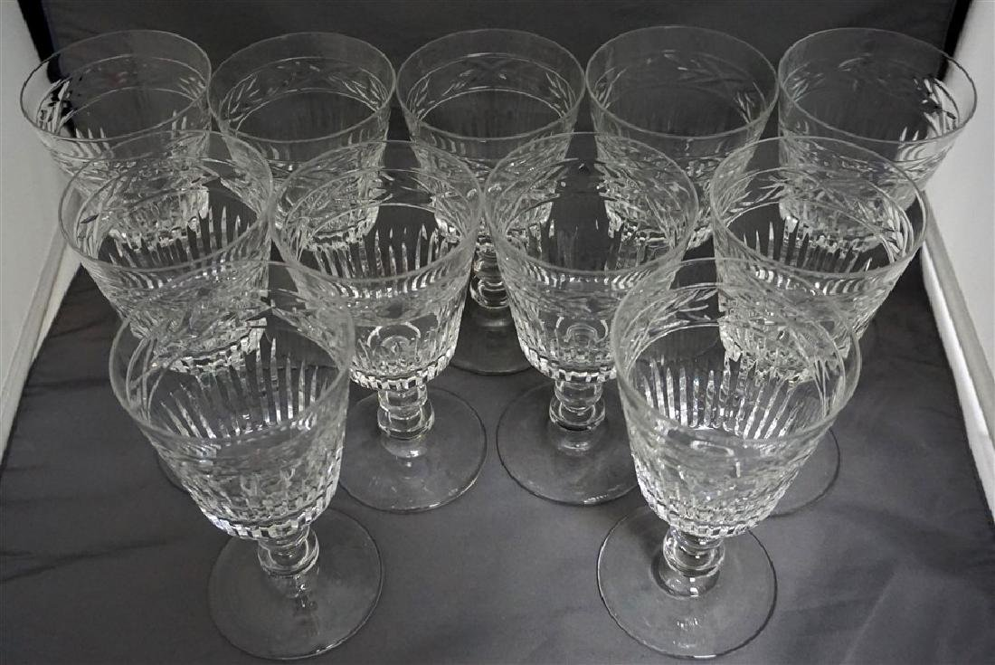 11 CONTEMPORARY CRYSTAL GLASSES - 5