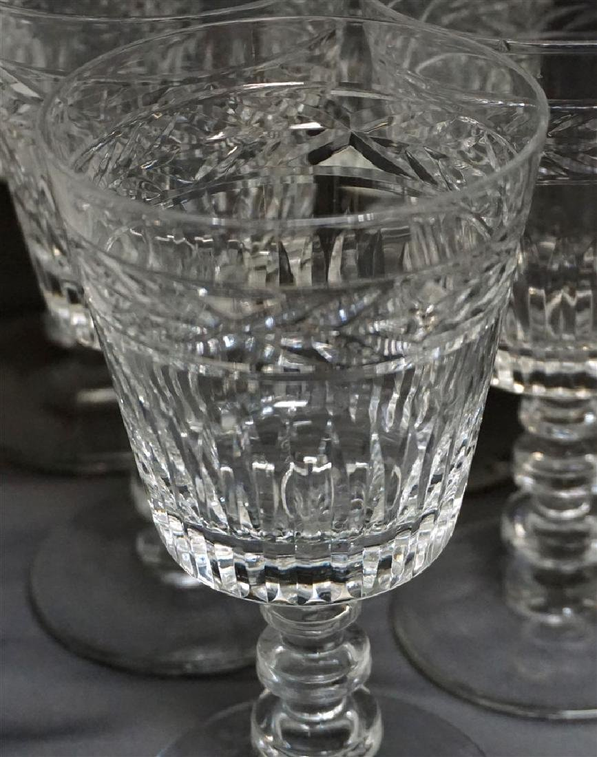 11 CONTEMPORARY CRYSTAL GLASSES - 6