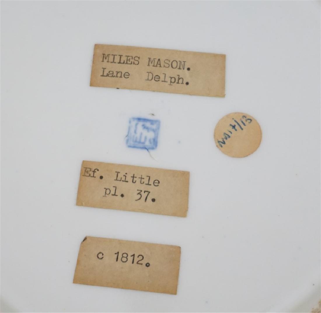 2 pc MILES MASON LANE DELPH c 1812 - 9