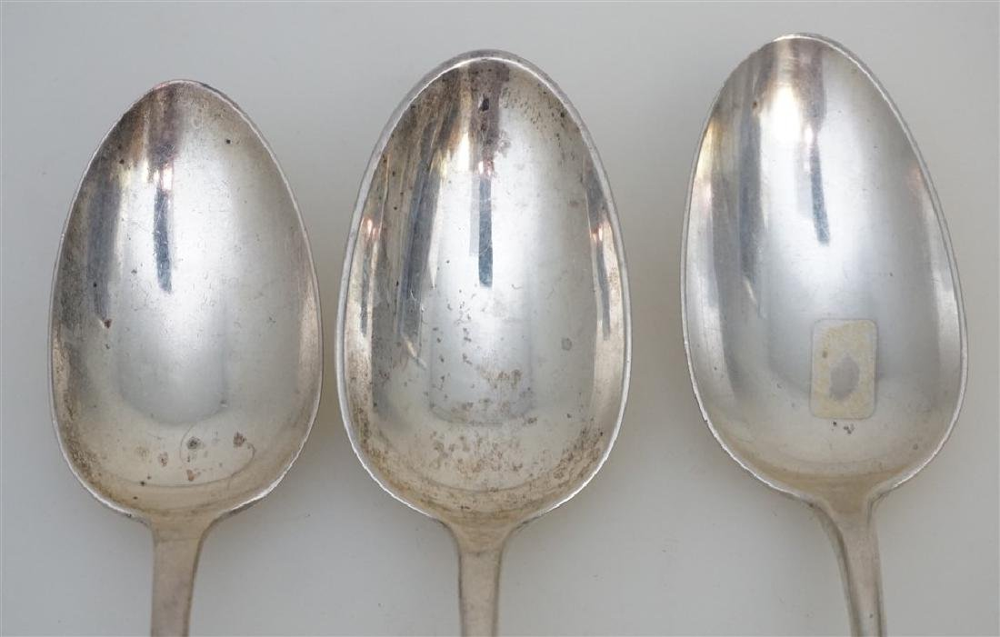 3 STERLING SILVER TABLESPOONS - 3