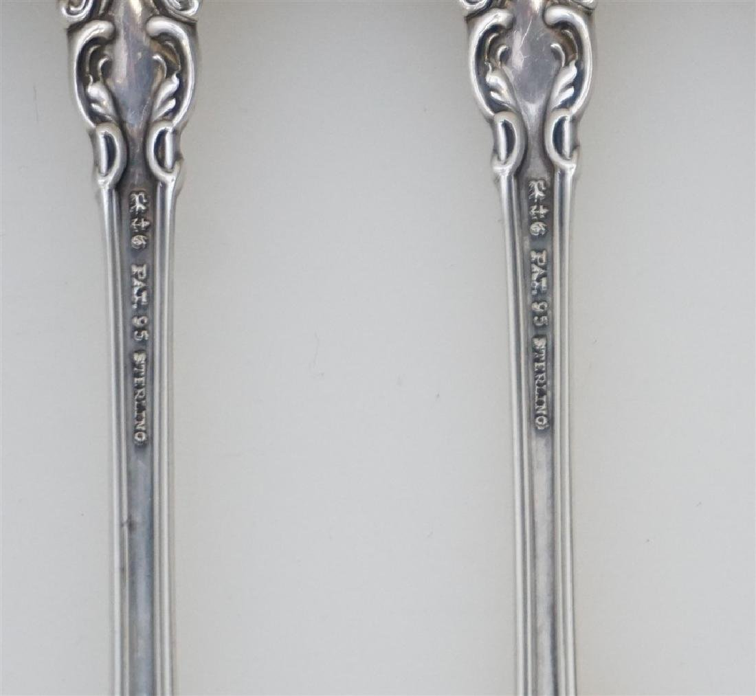 8 GORHAM STERLING CHANTILLY ICED TEA SPOONS - 5
