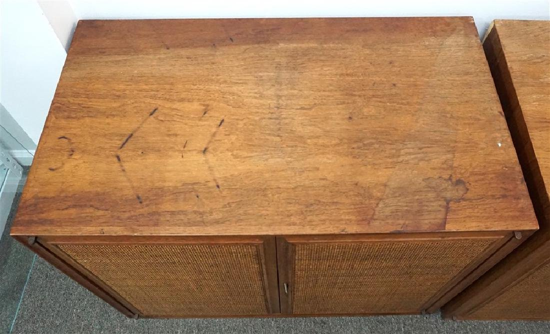 2PC CHESTS WITH CANE STYLE FRONT - 3