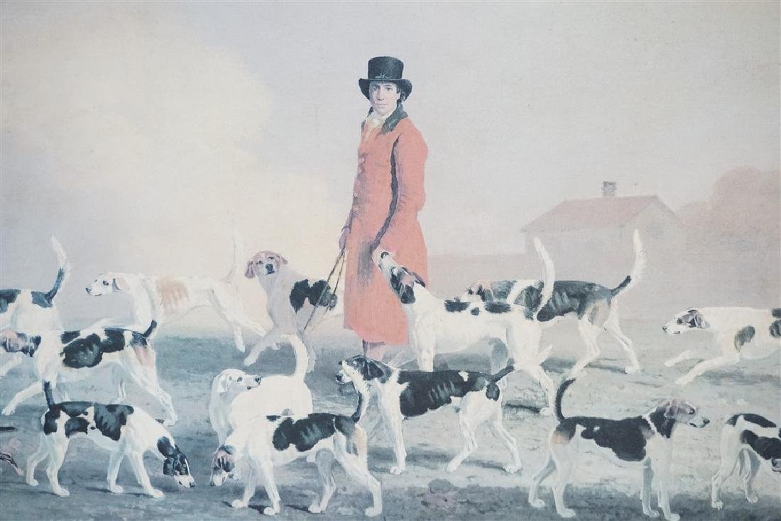 LARGE MASTER OF THE HOUNDS CANVAS PRINT - 3