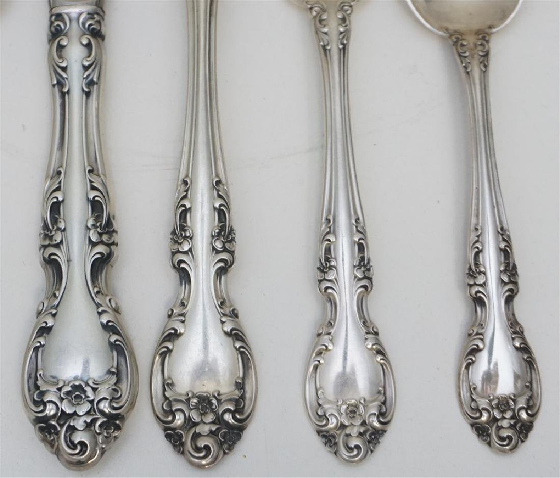 4PC PLACE SETTINGS- MELROSE STERLING - 3