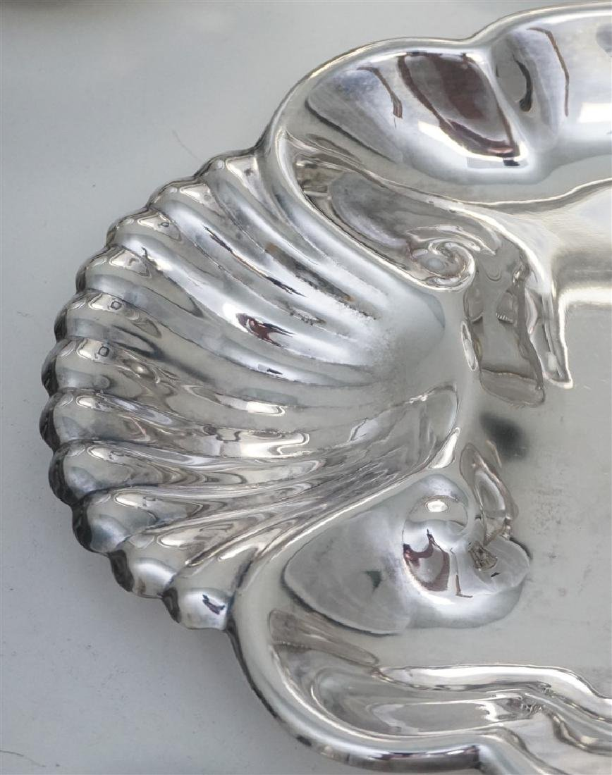 19 pc GOOD SILVER PLATE TRAYS - BOWLS + - 9