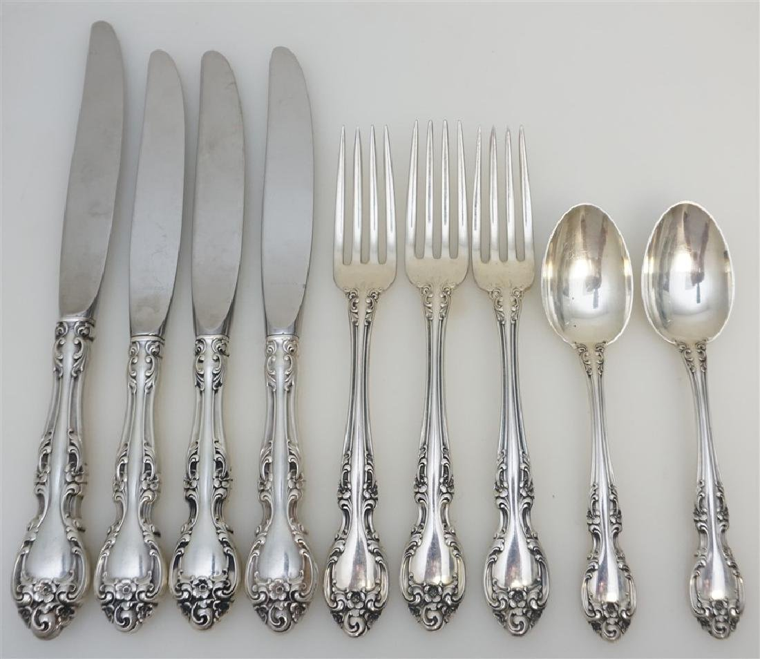 9 PC GORHAM STERLING SILVER MELROSE