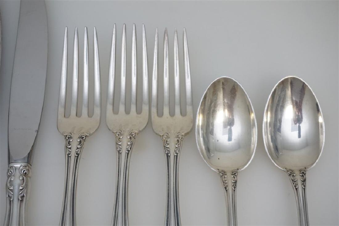 9 PC GORHAM STERLING SILVER MELROSE - 3