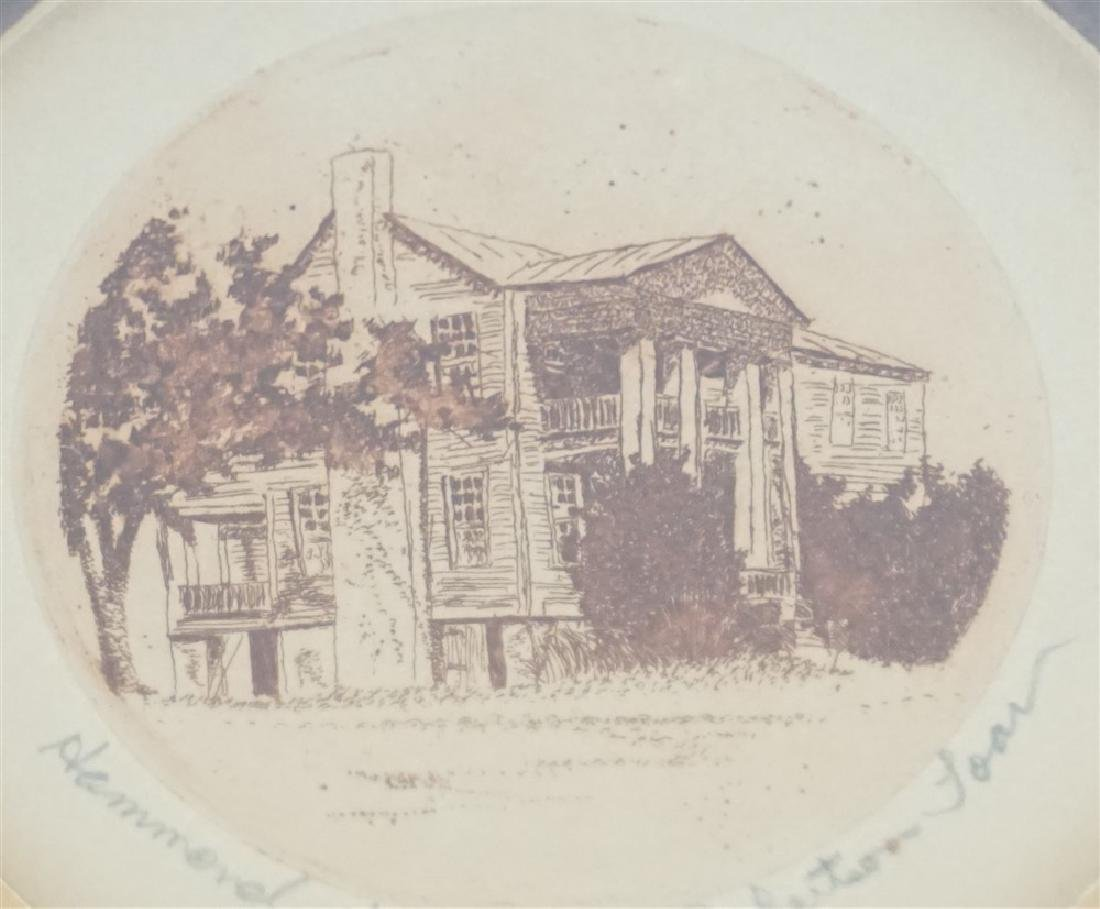 HAMMOND HOUSE ENGRAVING - 3