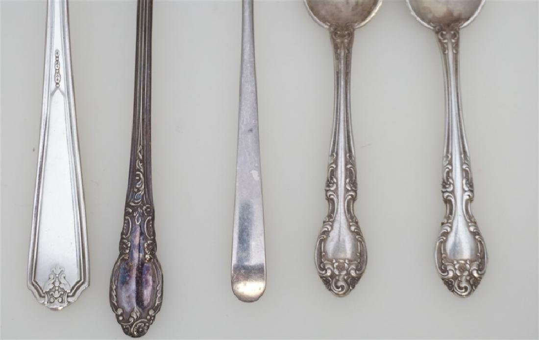 8 pc STERLING 3pc SILVER PLATE - 3