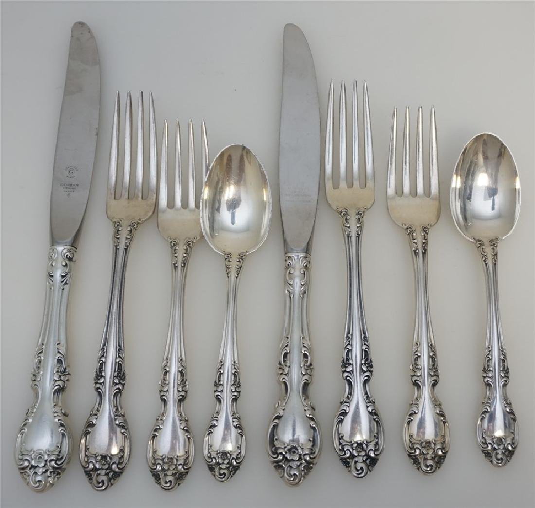 4PC PLACE SETTINGS- MELROSE STERLING