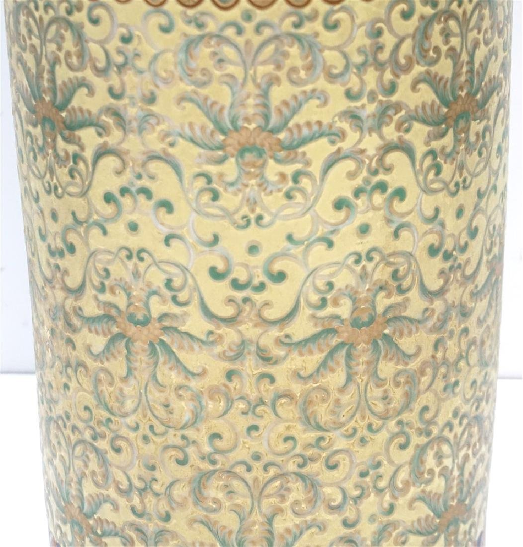 CHINESE PORCELAIN UMBRELLA STAND - 6