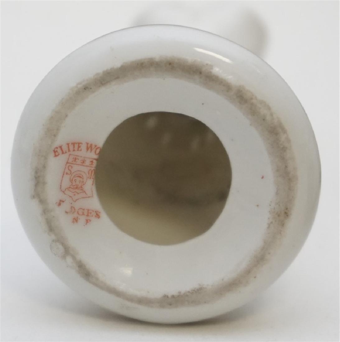 5PC LIMOGES HATPIN HOLDER JAPANESE SALTS - 5