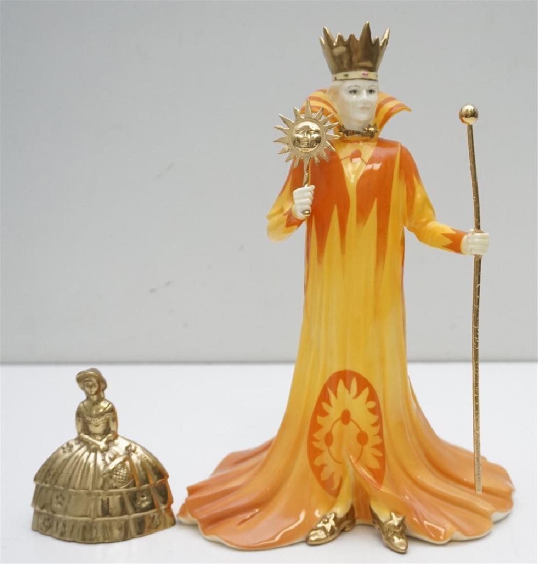 WEDGWOOD SUN KING FIGURE - 8