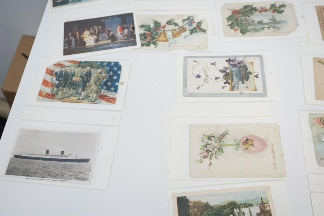 LARGE LOT VICTORIAN POSTCARDS - BOOKS + - 7