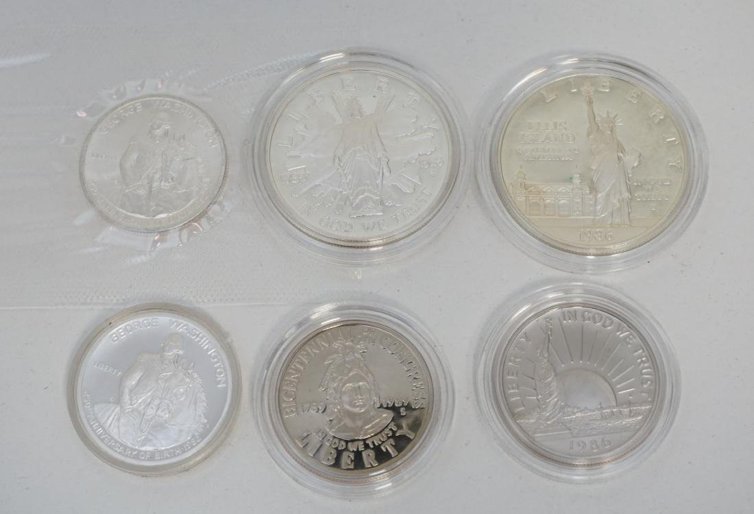 LOT OF SILVER US COINS - 2