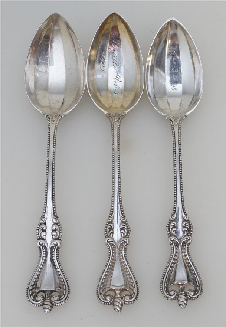 3 STERLING TOWLE OLD COLONIAL TEASPOONS