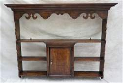 ANTIQUE FRENCH COUNTRY WALL SHELF