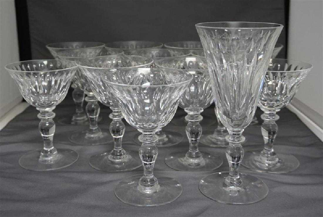 13 Cut Crystal Wine Glasses