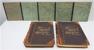 7 ANTIQUE & VINTAGE ART BOOKS