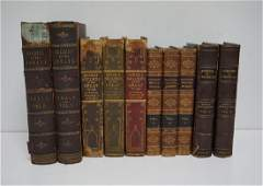 10 ANTIQUE BOOKS  ENGLAND