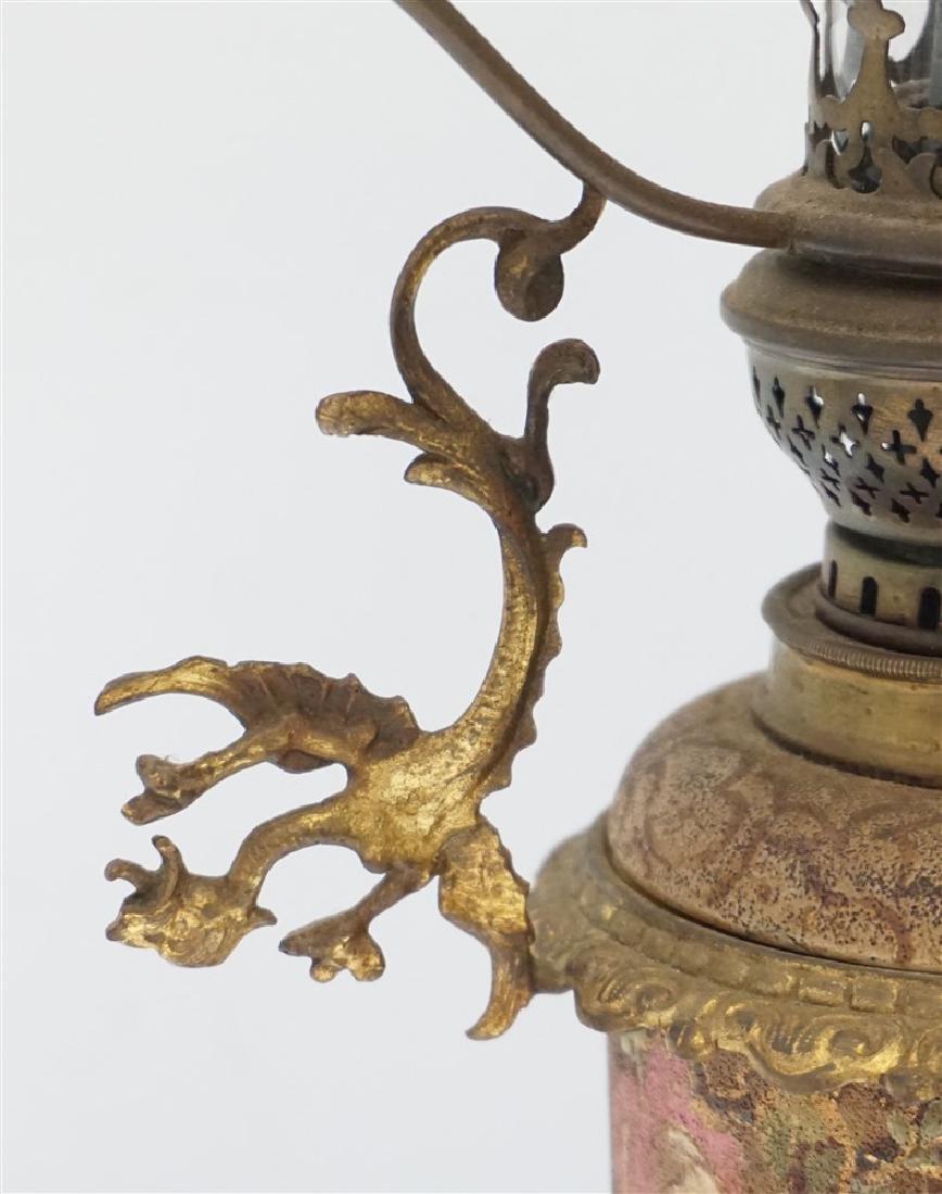 ANTIQUE OIL LAMP BRENNER BURNER - 3