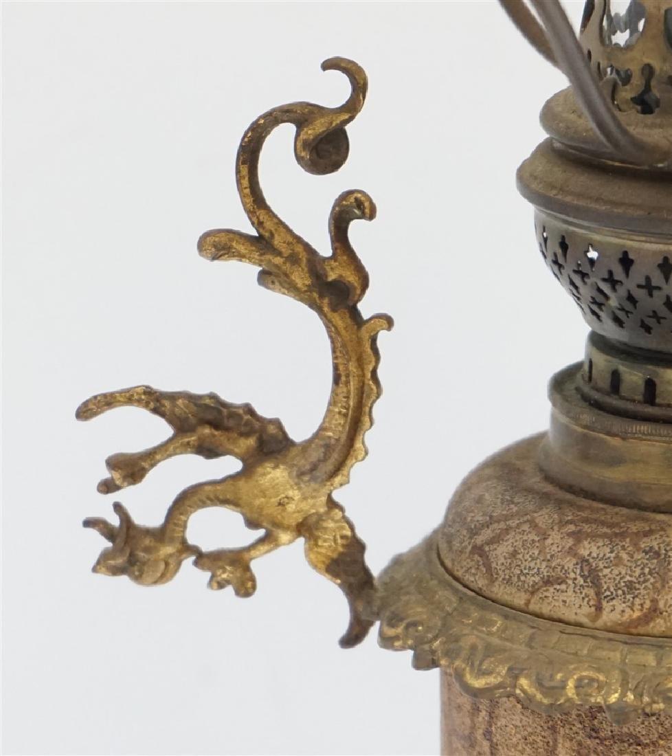 ANTIQUE OIL LAMP BRENNER BURNER - 5