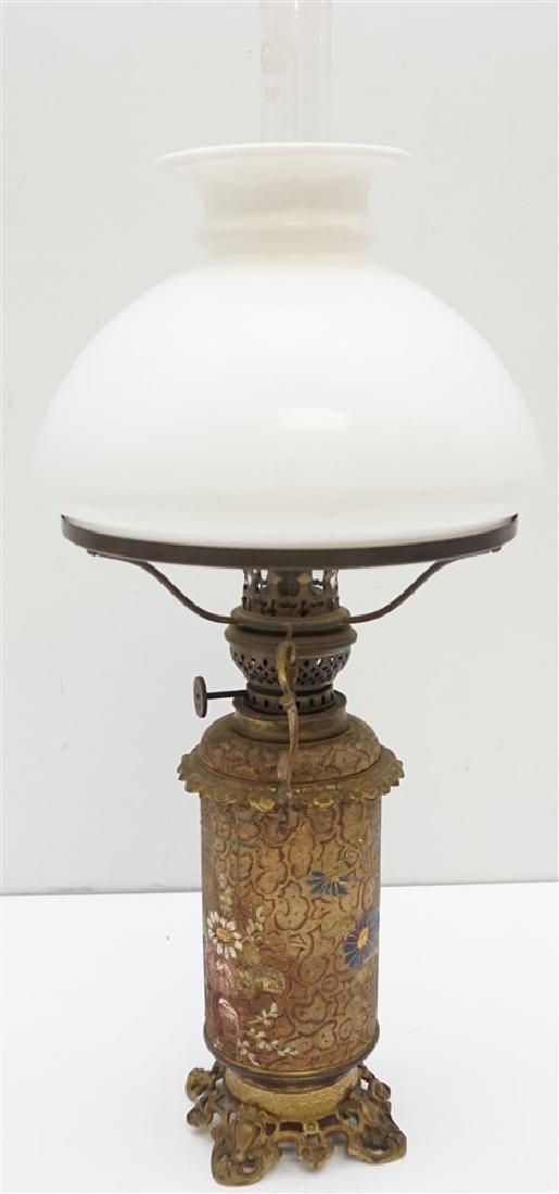 ANTIQUE OIL LAMP BRENNER BURNER - 6
