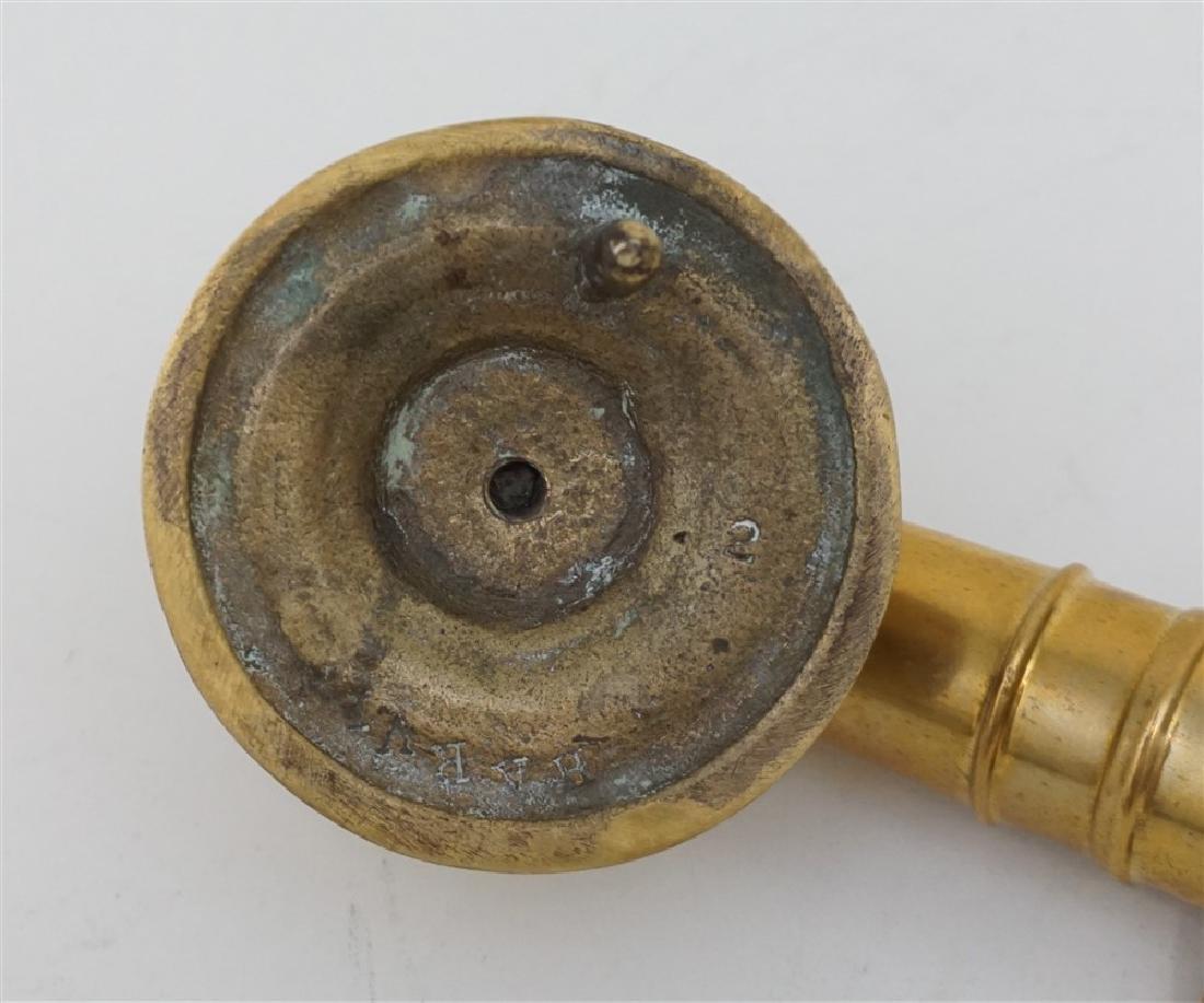HARVIN NAUTICAL BRASS CANNON DOOR KNOCKER - 5