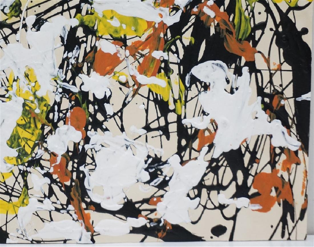 ABSTRACT EXPRESSIONIST DRIP AFTER POLLOCK - 6