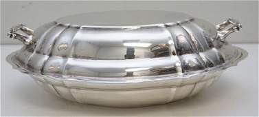 GORHAM STERLING CHIPPENDALE COVERED VEGETABLE