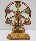CHEIN TIN LITHO HERCULES FERRIS WHEEL