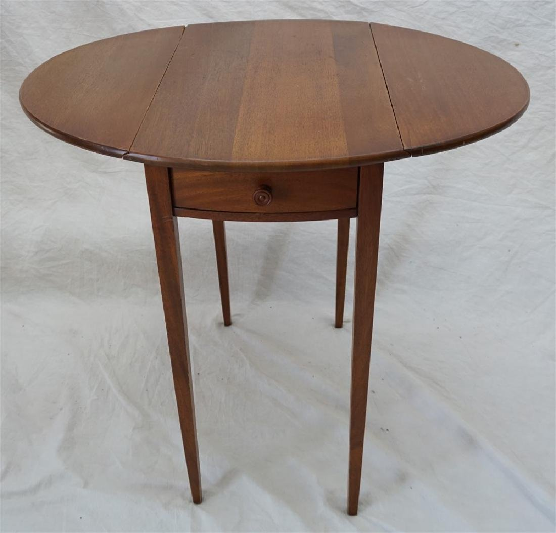 SMALL DROP LEAF SIDE TABLE - 5