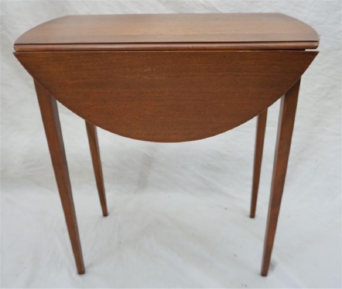 SMALL DROP LEAF SIDE TABLE - 7