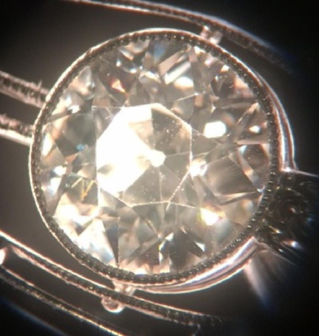 LARGE DIAMOND NECKLACE 2.60 CENTER - 10