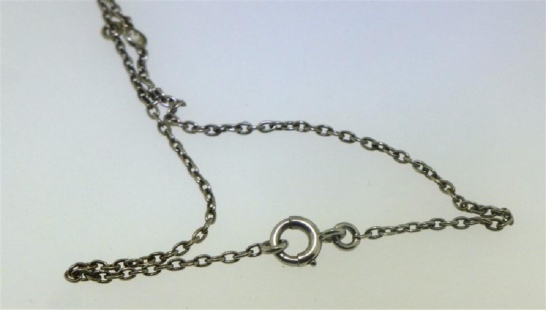 LARGE DIAMOND NECKLACE 2.60 CENTER - 9