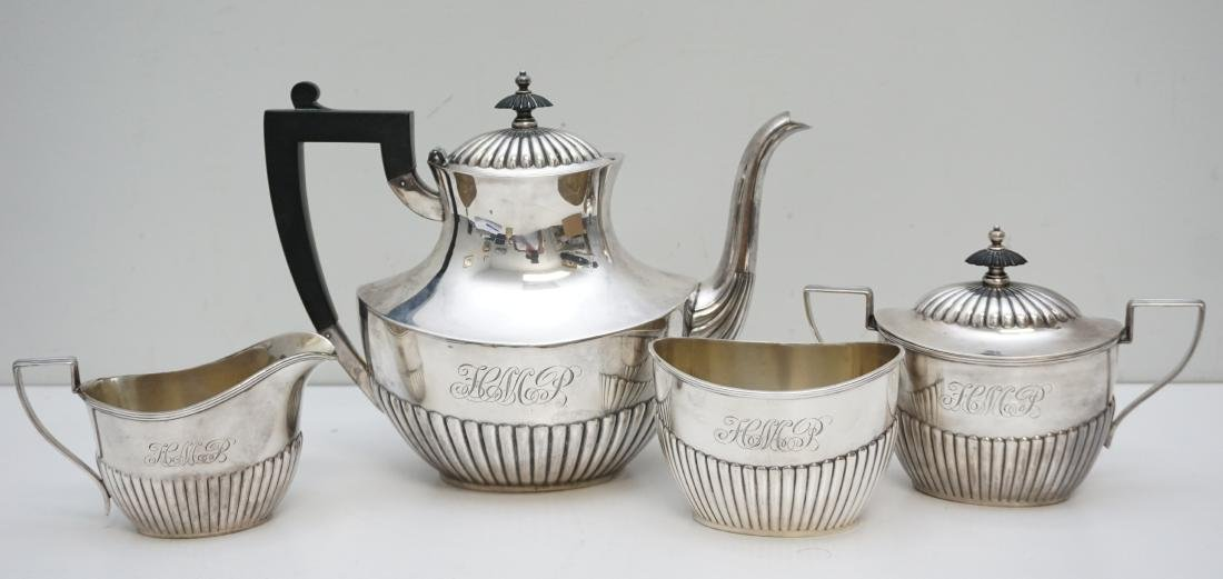 4PC GORHAM STERLING COFFEE SERVICE