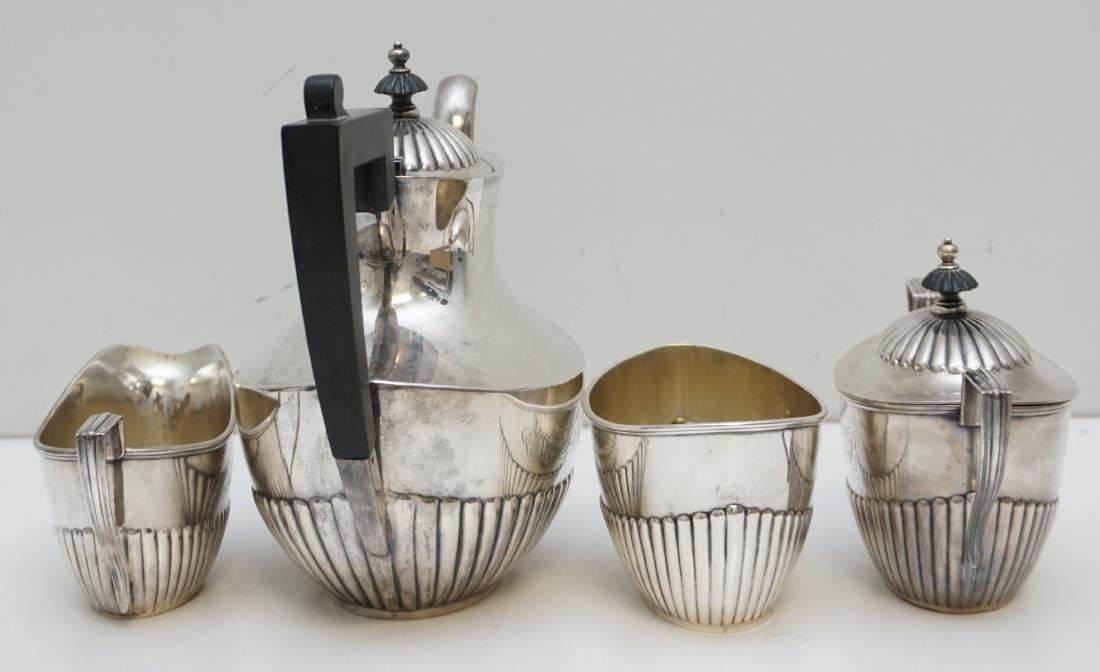 4PC GORHAM STERLING COFFEE SERVICE - 4