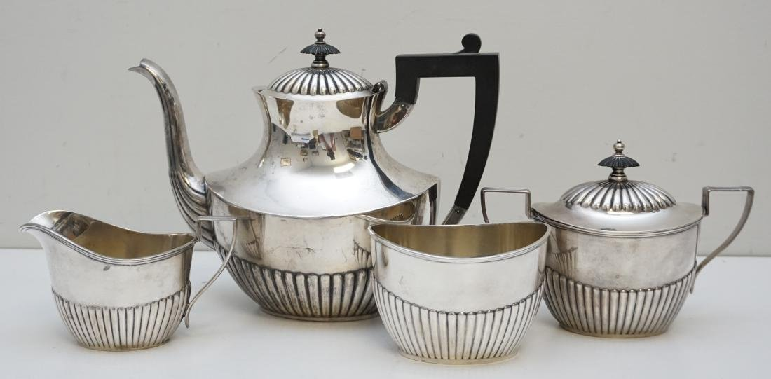 4PC GORHAM STERLING COFFEE SERVICE - 5