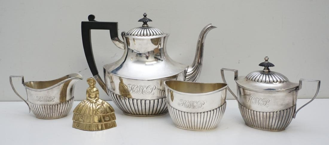 4PC GORHAM STERLING COFFEE SERVICE - 9