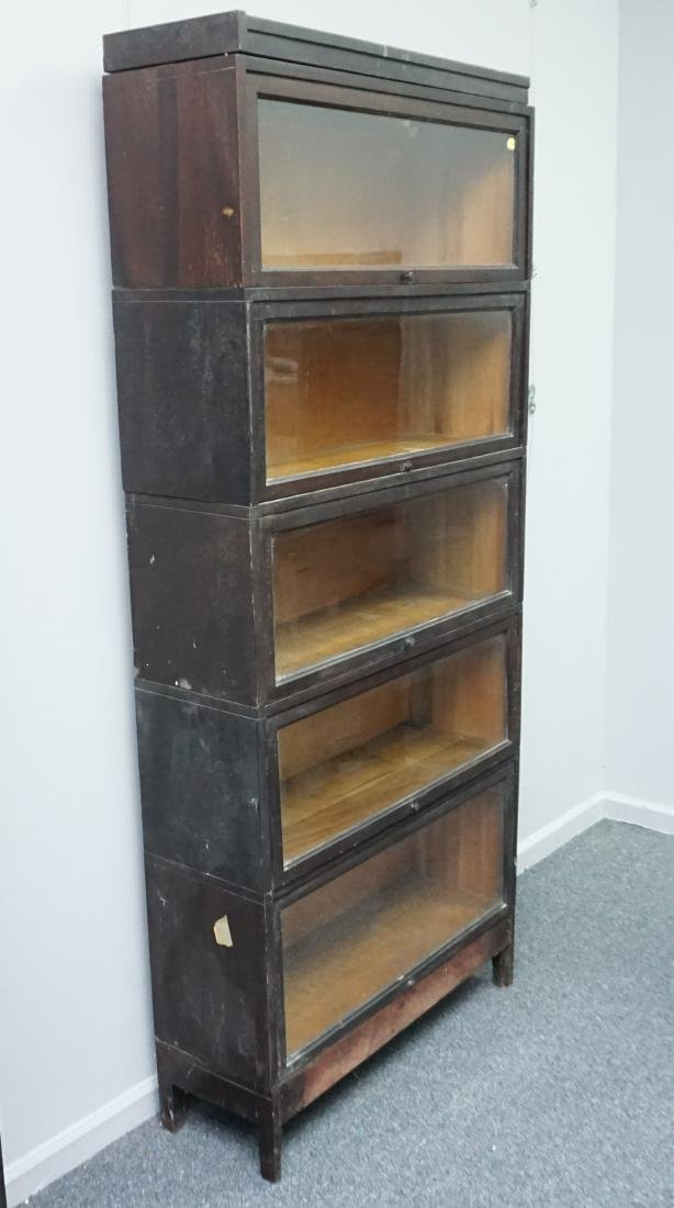 MACEY 5 STACK BARRISTER BOOKCASE - 9