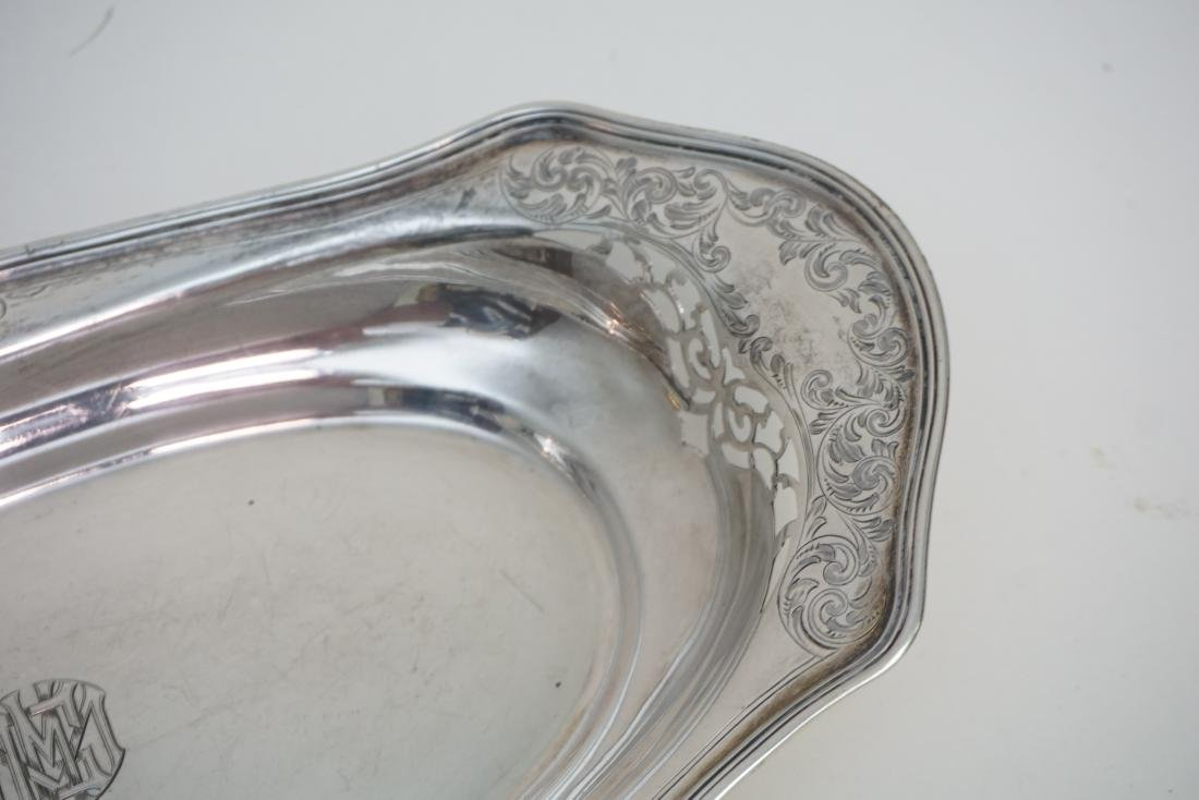 WHITING STERLING BREAD TRAY - 3