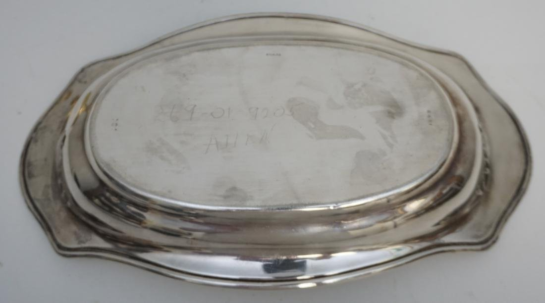 WHITING STERLING BREAD TRAY - 5