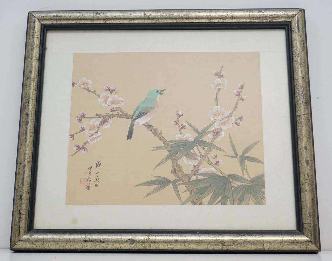 ORIGINAL CHINESE BIRD & CHERRY BLOSSOM