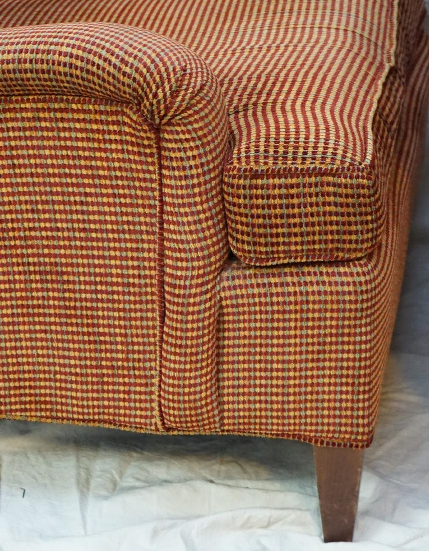 2 UPHOLSTERED CHAIRS WITH OTTOMAN - 4